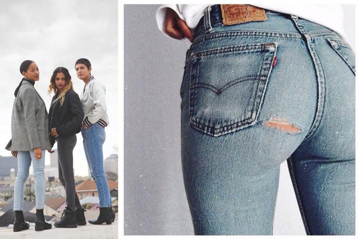 Helemaal Jeans Brengt Levi's Terug De Love Skinny qIS8Xnw
