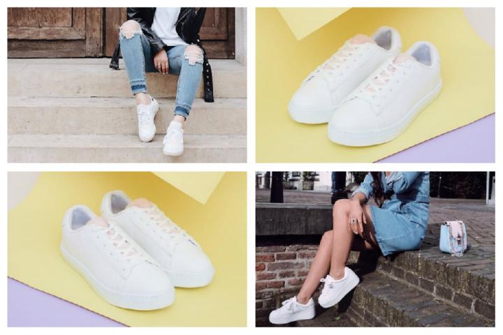 12 sneakers blanches stylées que vous ne verrez pas aux pieds de tout le  monde ef80326302a
