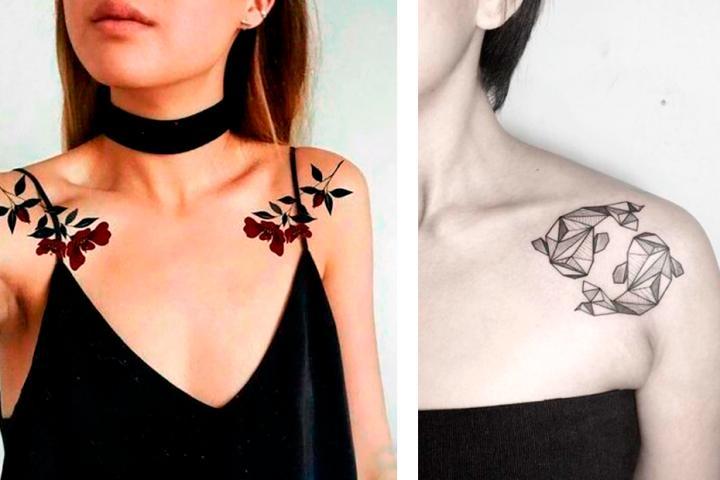 tatouage creux epaule