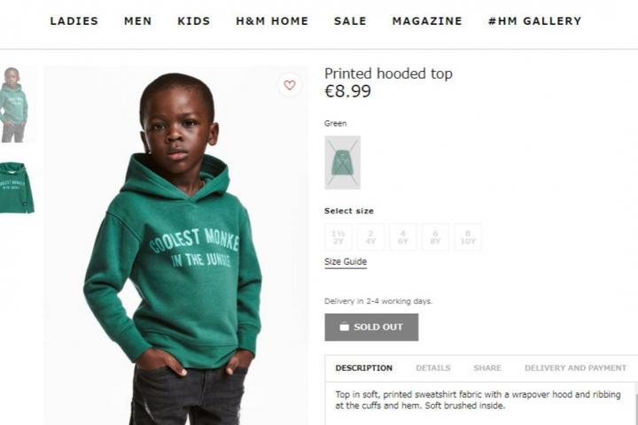 64733bc70d240 H&M répond après sa publicité jugée raciste