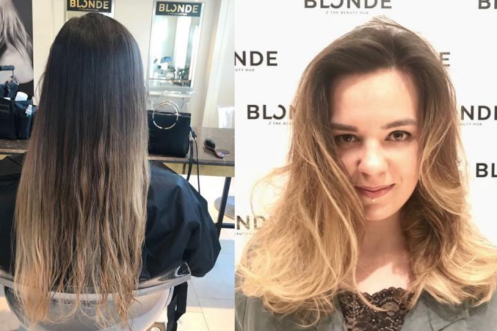 Teste Pour Vous Blonde Le Salon De Coiffure Royal