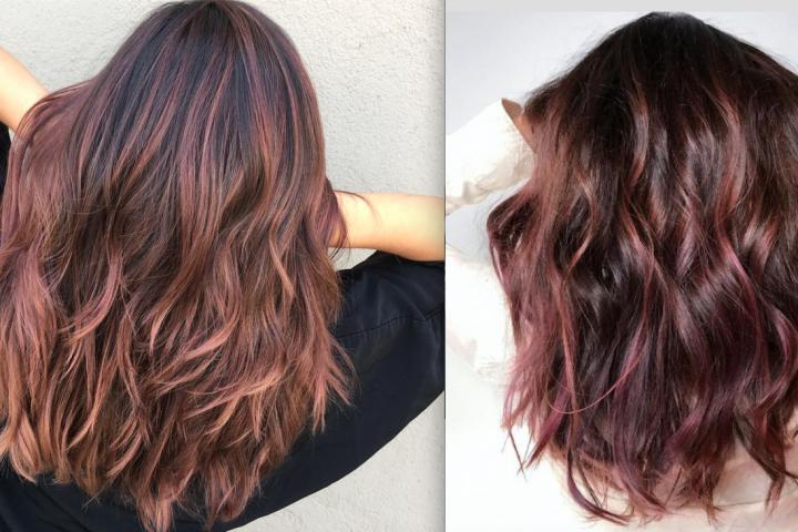 Couleur cheveux femme brune