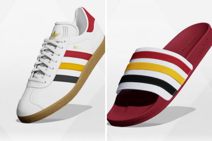 Couleurs On VeutLes La Belgique Adidas De Personnalisées Aux 5Aq43jLR
