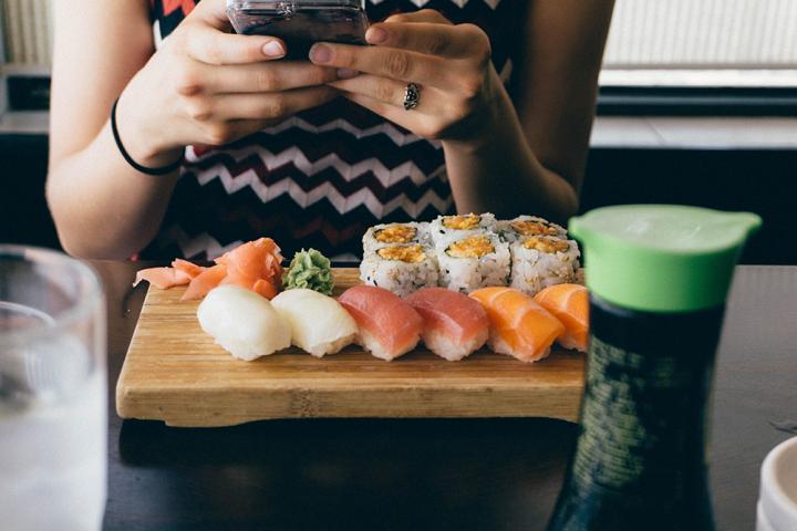 Gratis sushi