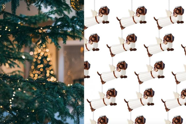 Worsthondjes Kerstmis