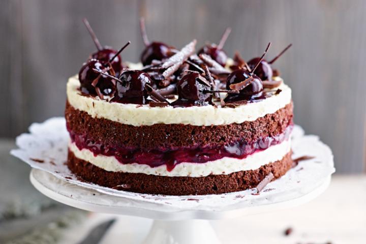 Dessertjes met chocolade