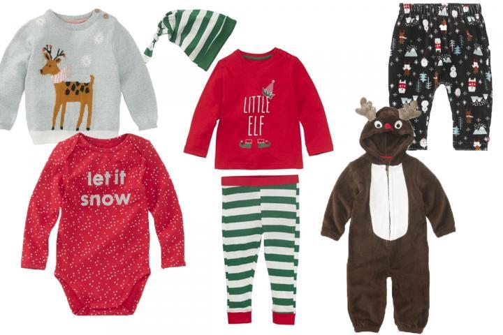 ce7f9ca5b8c29 Hema vend des vêtements de Noël pour bébé et on fond