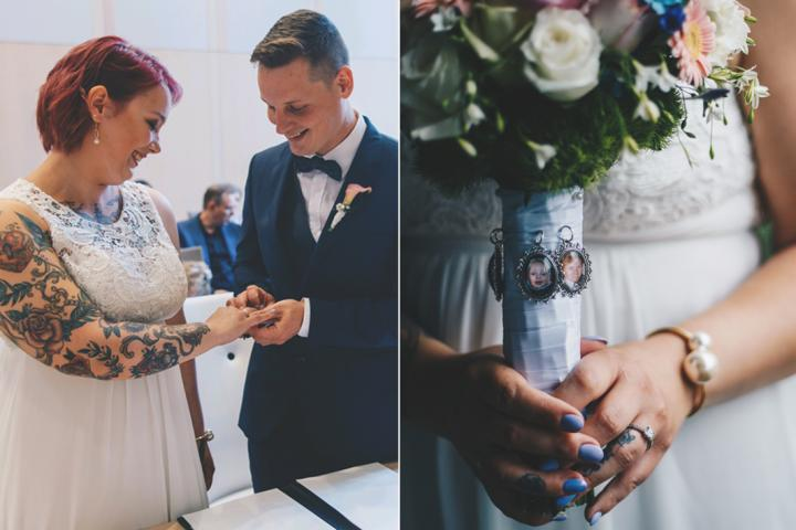 Jurk Voor Bruiloft Vriendin.Weddingwednesday Emelie Geert Tweeenhalf Uur Voor De Bruiloft