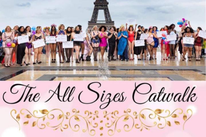 Déshabillées Femmes Défilé Dénoncer Rondes À De Diktats Paris Pour Les KlF3T1Jcu