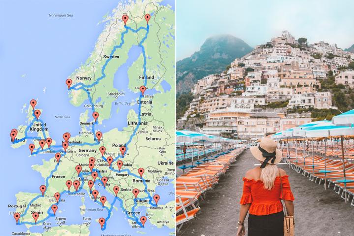 Roadtrip door Europa