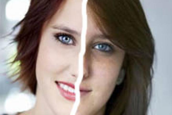 voor en na kapsels