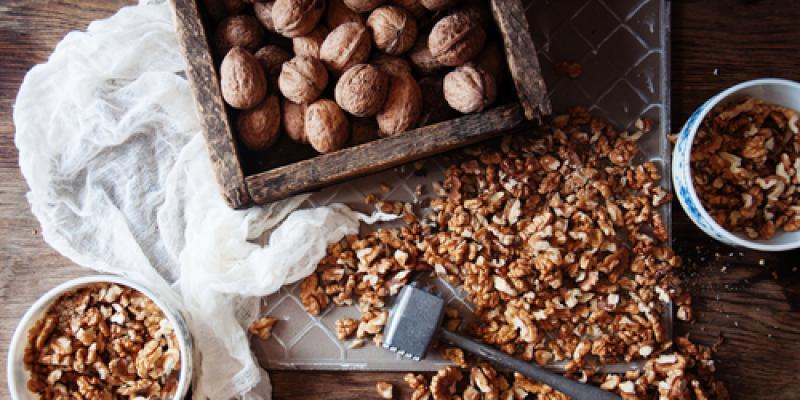 11 recettes sucrées et salées avec des noix