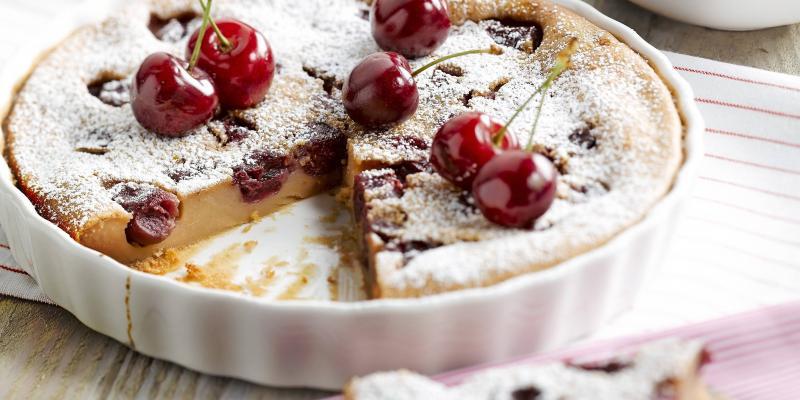 10 desserts avec des cerises