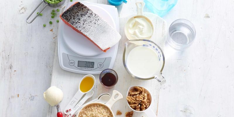Maten en gewichten in de keuken: tabel