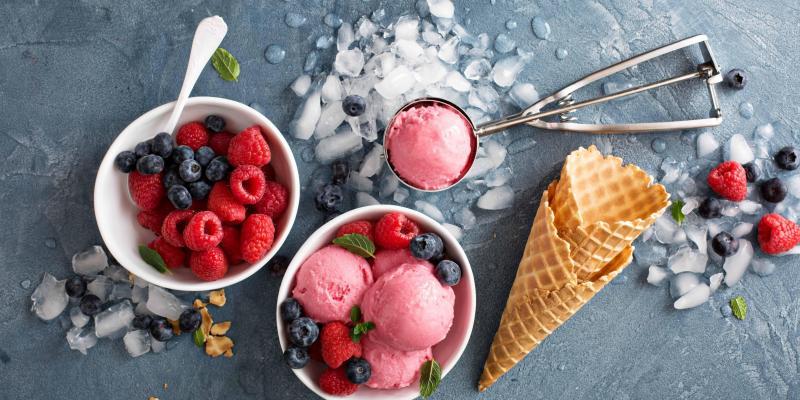 Gezonde ijsjes in 1-2-3
