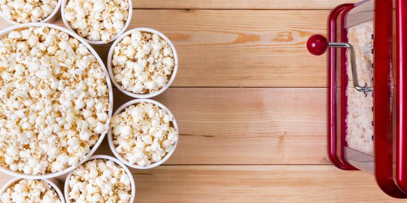 Faire du popcorn, un jeu d'enfant