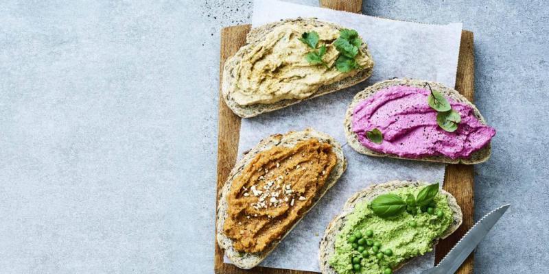 4 recettes de tartines végétariennes