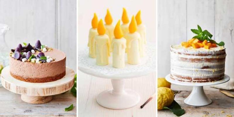 X gâteaux de fête pour petites et grandes occasions