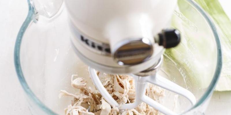 Keukentruc: zo maak je snel kipreepjes 2
