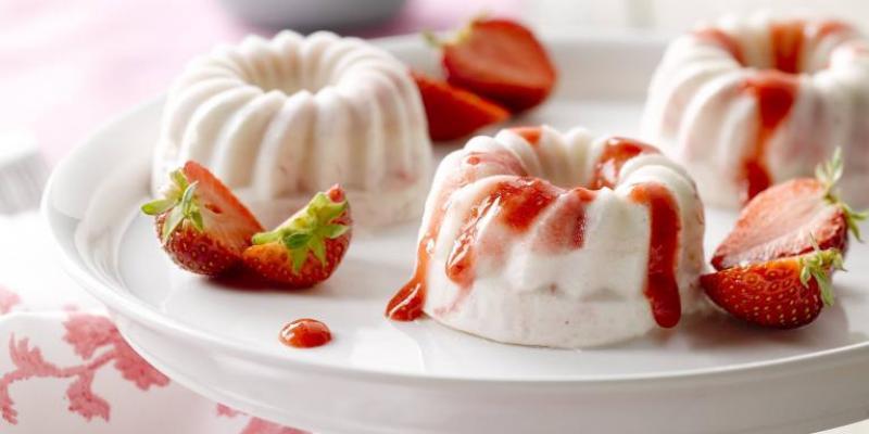 x desserts rafraîchissants
