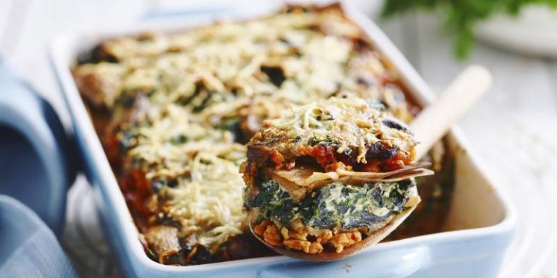 8 recettes légères de lasagnes