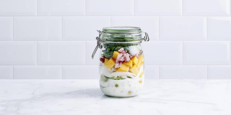 Salad in a jar: zo doe je het