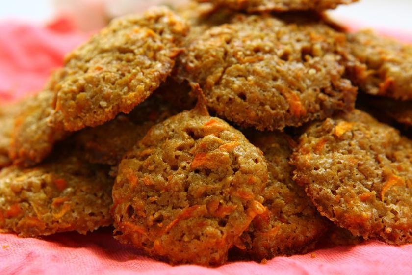 Wortelkaas koekjes