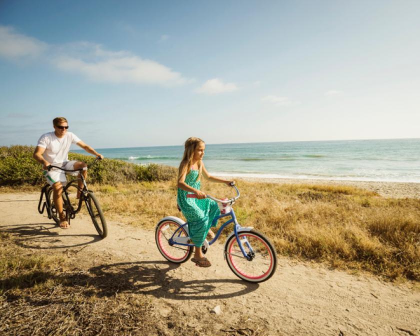 Fietstocht, Belgie, fietsen met kinderen