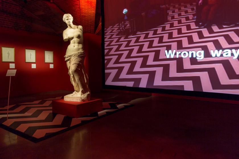 expo art et séries TV