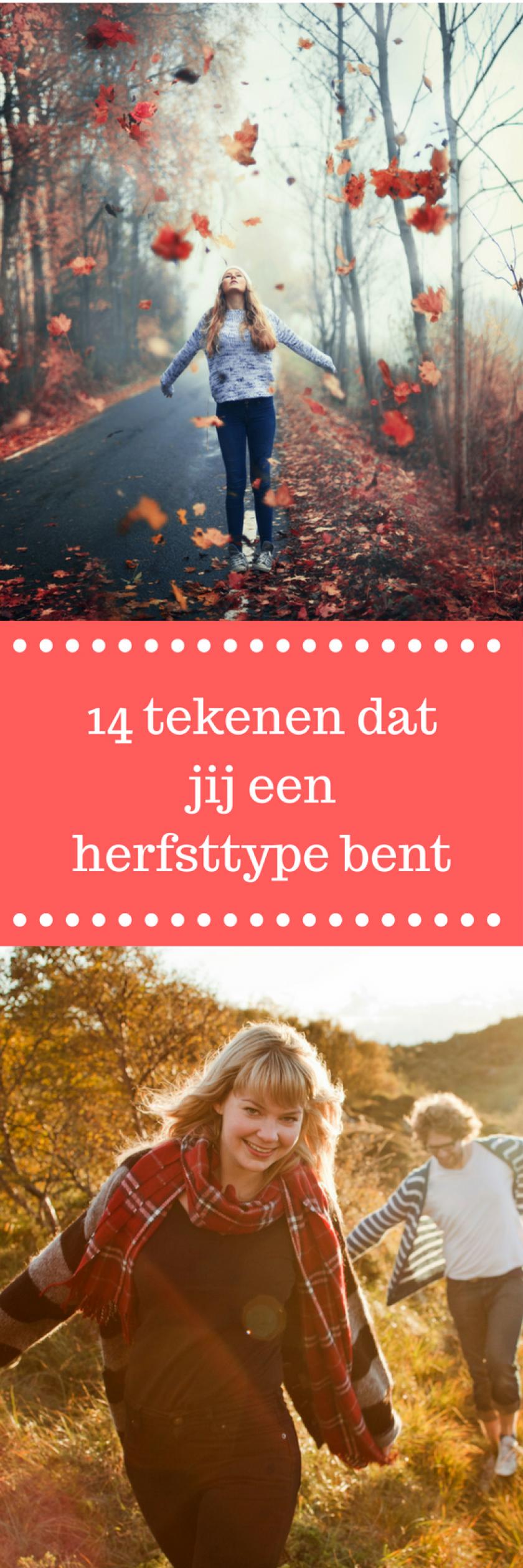 14 tekenen dat jij een herfsttype bent