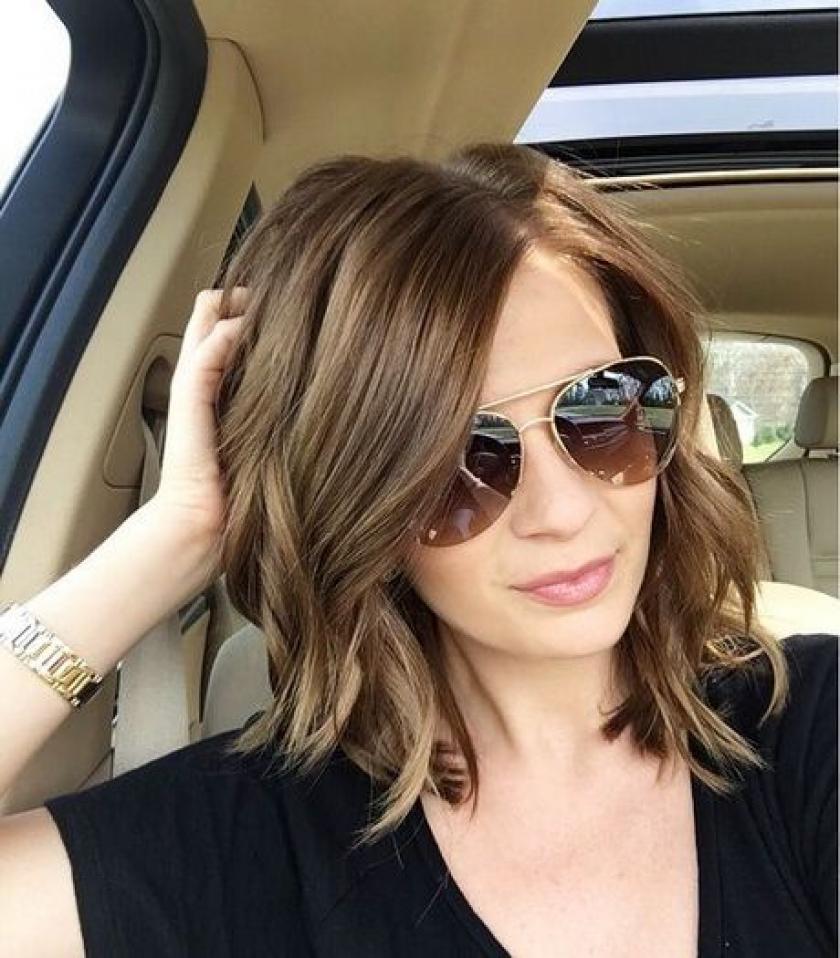 Populair Trendy kapsels voor halflang haar - Libelle @JL22