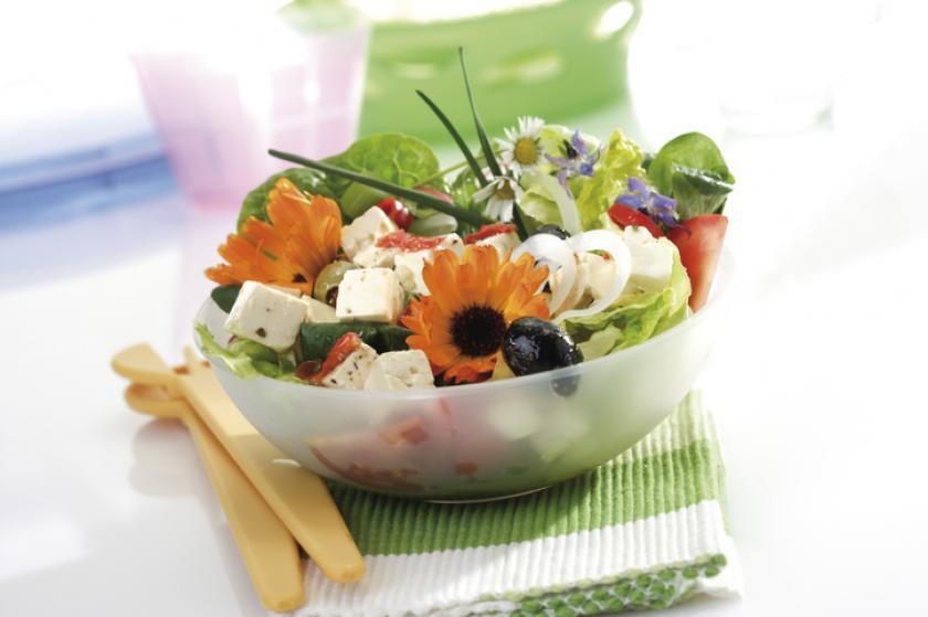 goudsbloem salade