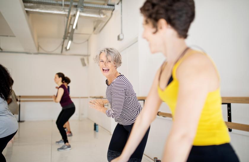 menopauze opvliegers bewegen