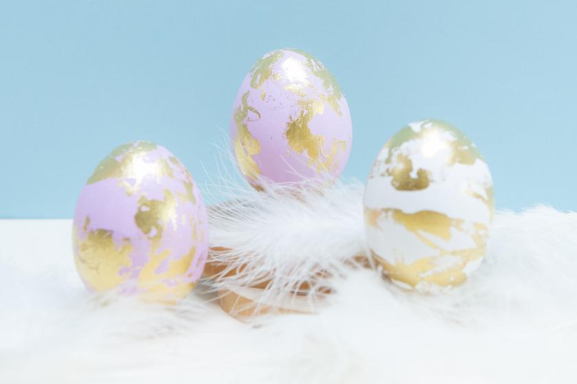 eitjes versieren Pasen