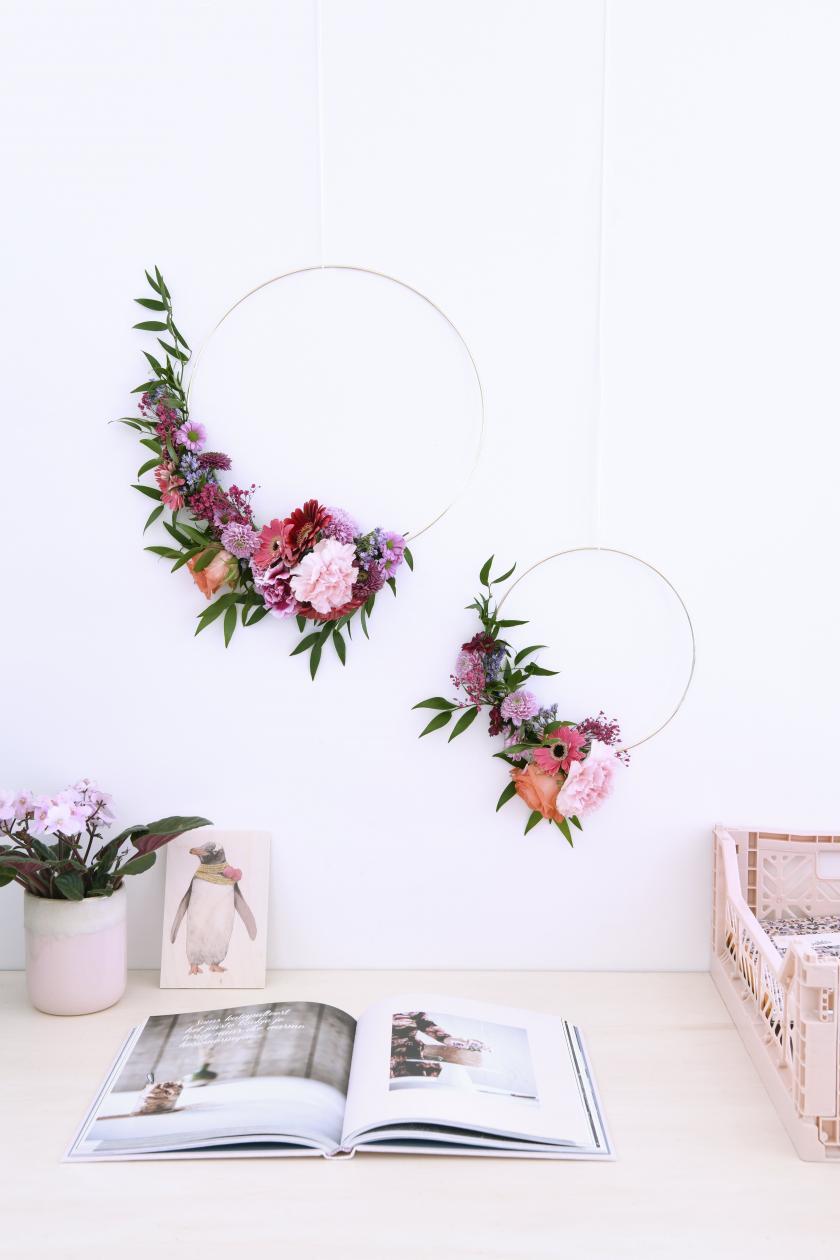bloemenkransen maken