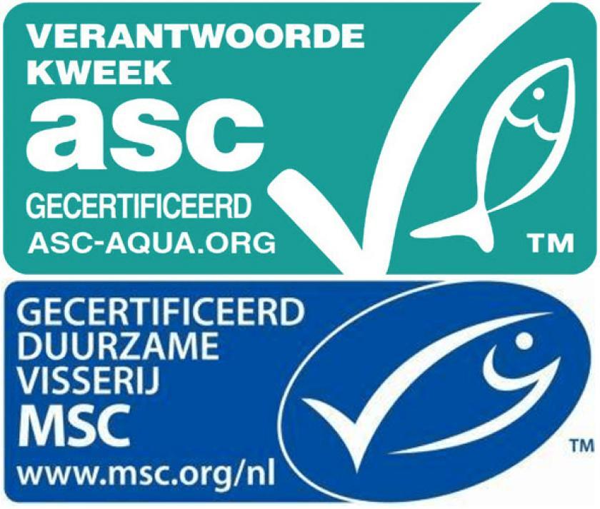 duurzaam gevangen vis