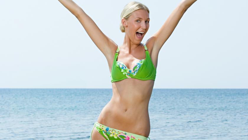 Trendy Badpak.Badpak Of Bikini Trendy Naar Het Strand Libelle