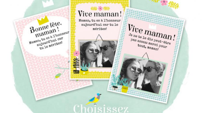 Envoyez Une Jolie Carte Virtuelle A Votre Maman Femmes D Aujourd Hui
