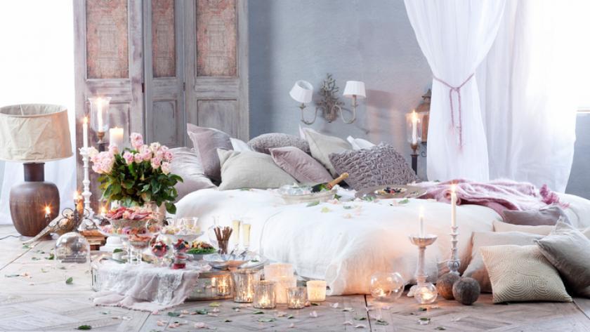 Hoe creëer je een romantische slaapkamer? libelle
