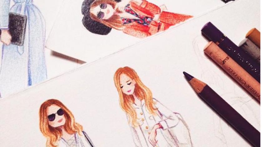 Vu Sur Instagram Les Dessins Aux Crayons De Couleur De L