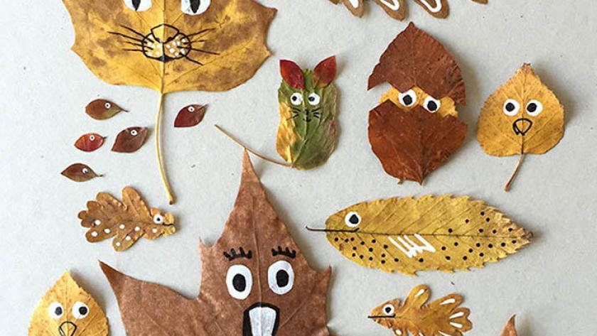 Magnifiek 9x herfst-knutselen met kinderen - Libelle @ZY54