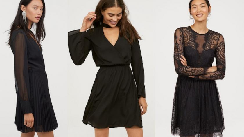 Shopping 21 robes noires pour les fêtes à moins de 100