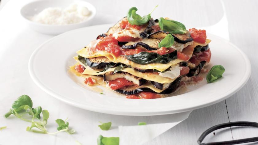 gerookte zalm spinazie lasagne