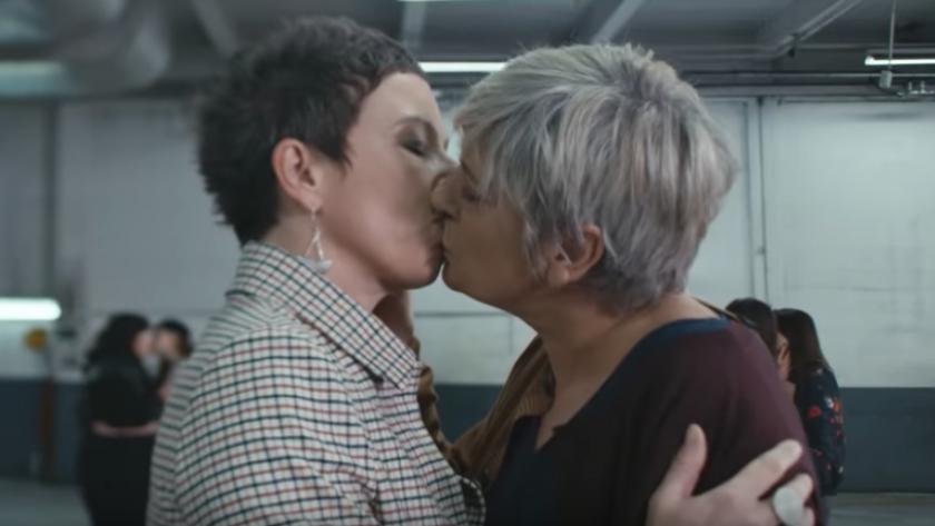 Amour entre femmes francaises