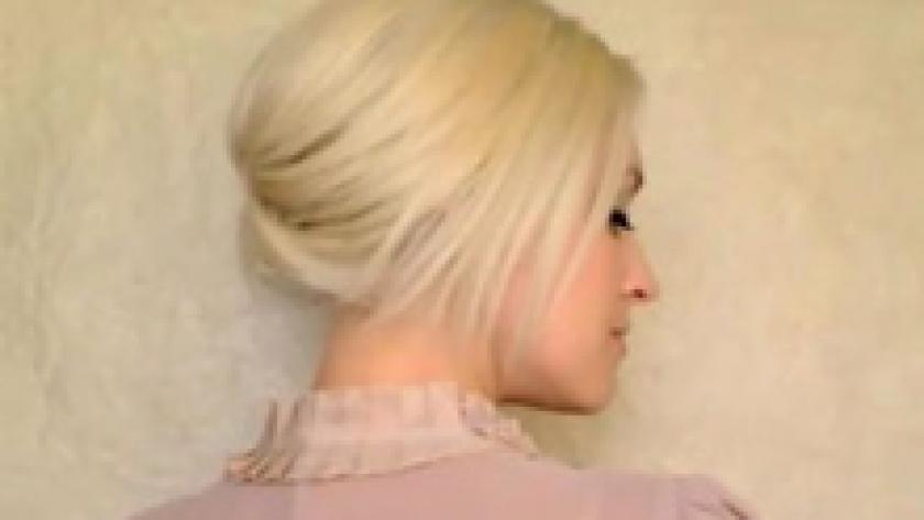 Des Chignons Pour Cheveux Mi Longs Femmes D Aujourd Hui