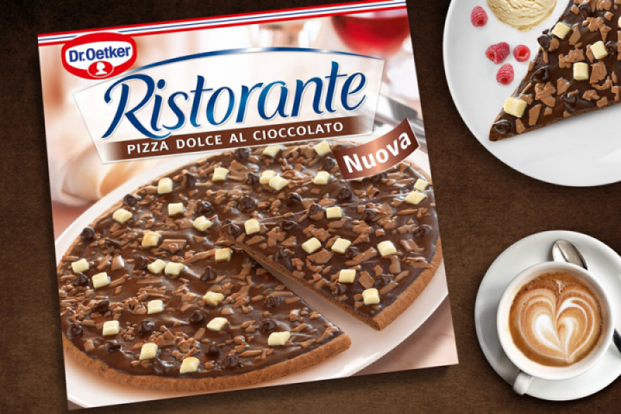 chocoladepizza