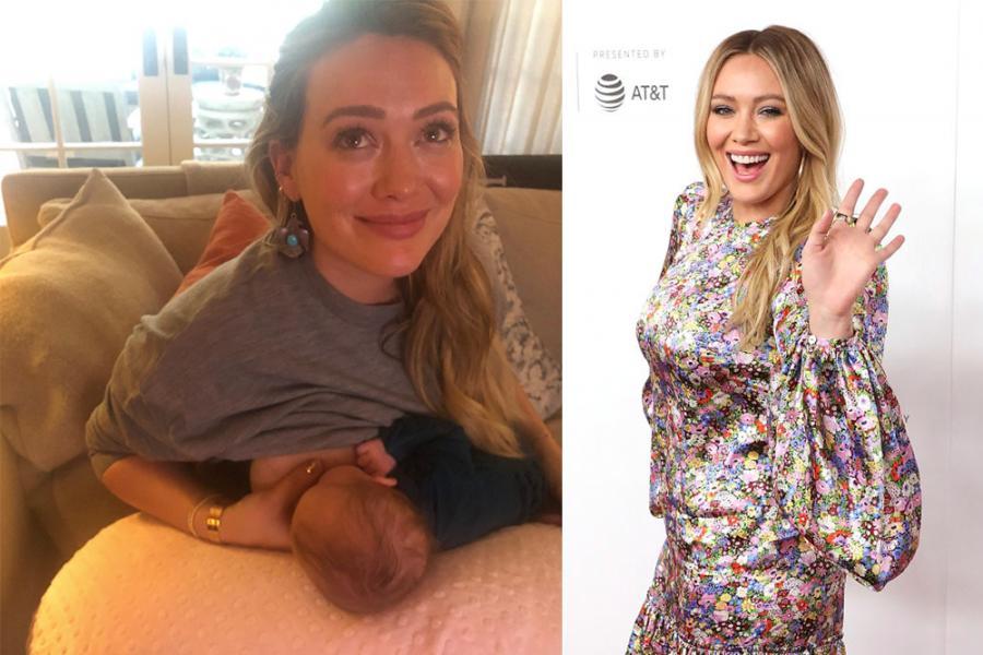 Hilary Duff over borstvoeding