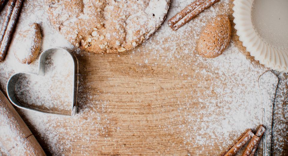 Heerlijke koekjes bakken