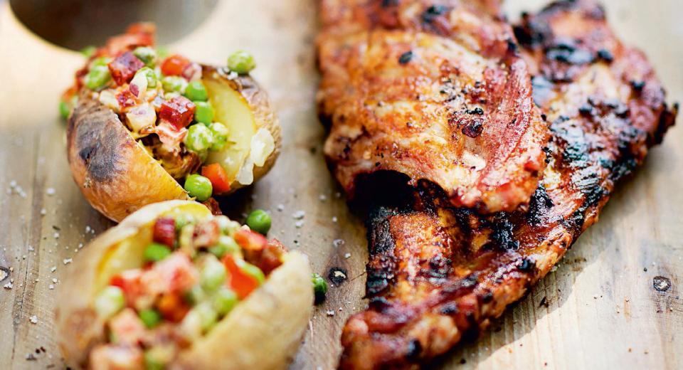 20 eenvoudige barbecuegerechten