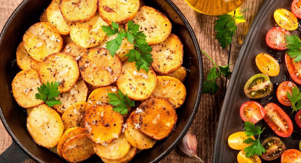 zelf aardappelschijfjes maken